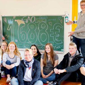 "Gymnasium am Oelberg – Projektkurs ""Green Corner"""