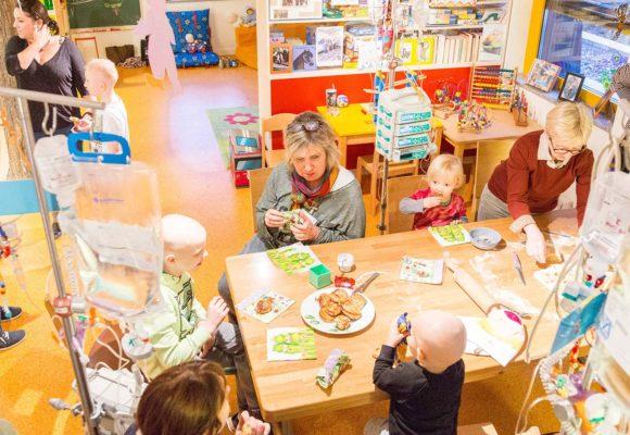 Ein Zufluchtsort im Krankenhausalltag: Die Silberinsel