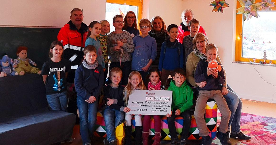 Benefizlauf der Laurentiusschule in Bonn-Lessenich