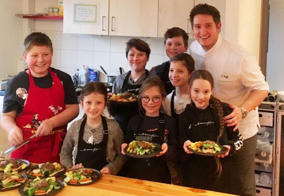 """Kochen mit dem """"hessischen Jamie Oliver"""" Christian Senff in der Silberinsel"""