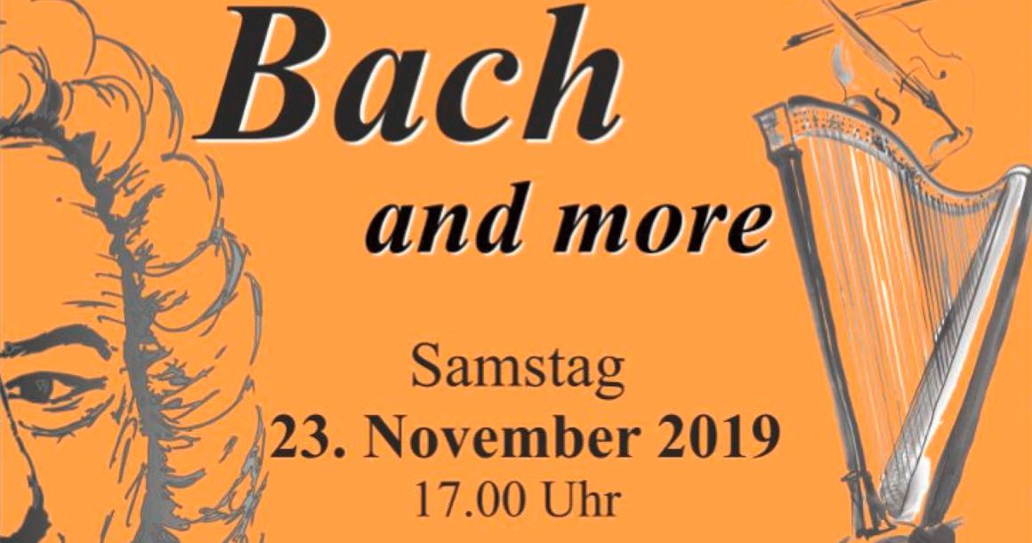 Konzert: Bach and more – Sinfonia Rhein-Rieg am 23.11.2019