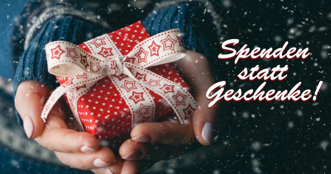 Spende(n) statt Geschenke!