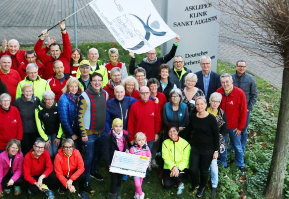 25. Weihnachtslauf des Sportvereins TuS Mondorf unterstützt krebskranke Kinder mit 25.110 Euro